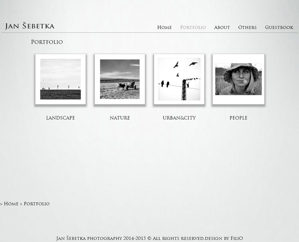Jan Šebetka portfolio