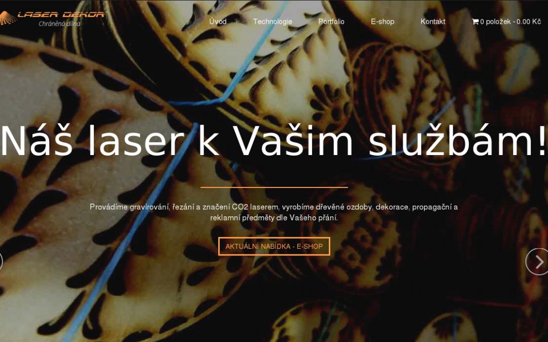 Web Laser Dekor