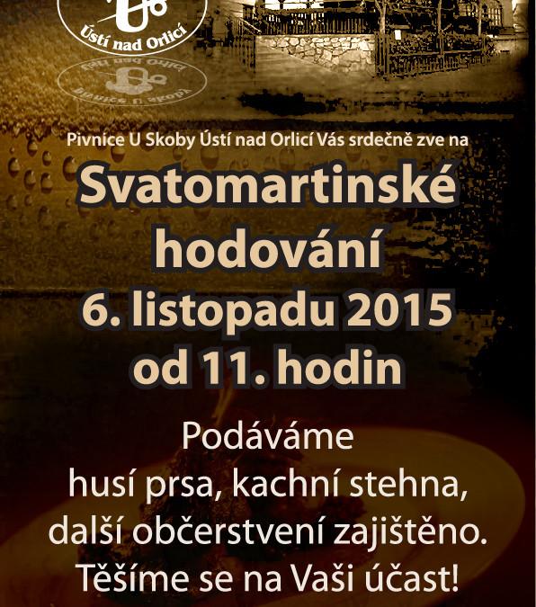 Svatomartinské hodování 2015-POSTER/FLYER