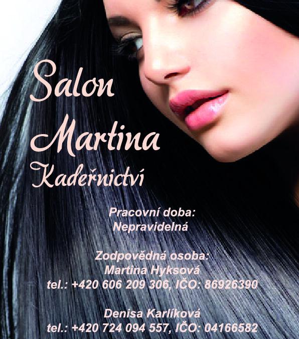 Kadeřnictví Salon Martina