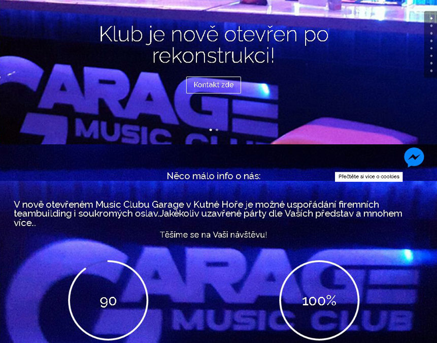 Web Music Club Garage, Kutná Hora