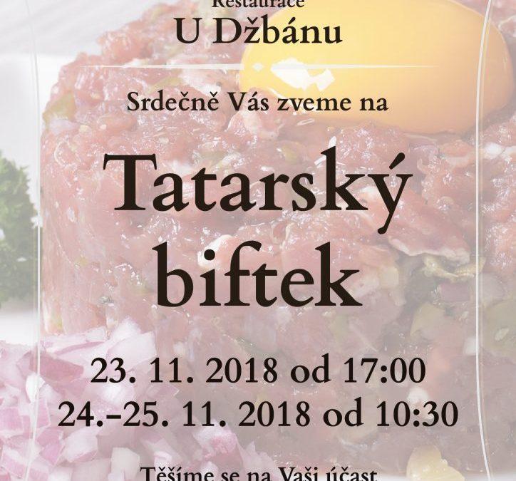 Restaurace U Džbánu-Tatarák 2018