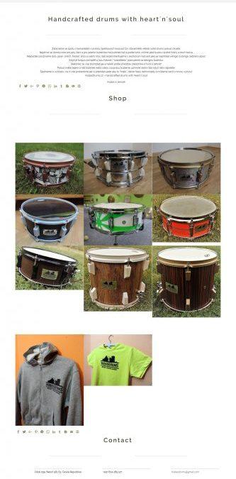 Hubas Drums | Web | Shop | WordPress | WooCommerce