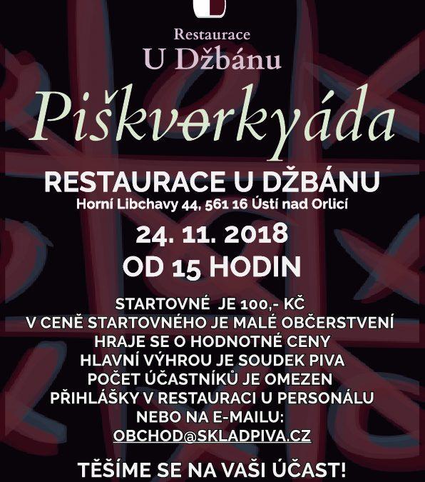 Restaurace U Džbánu-Piškvorkyáda 2018