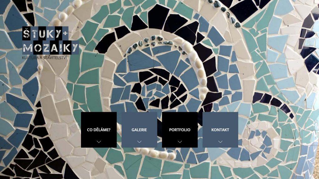 Štuky a mozaiky | Onepage prezentace | WordPress